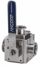 ANCORP�s 3-Way Ball Valve is Designed to Divert Flow